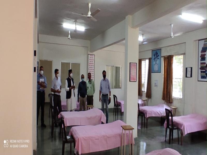 Bhopal News: सागर ग्रुप ने भोपाल के रातीबड़ कैम्पस में 500 बेड का कोविड केयर सेंटर शुरू किया