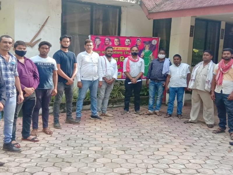 Political News in Bilaspur: जकांछ सुप्रीमो को याद कर पदाधिकारियों ने मनाया स्थापना दिवस