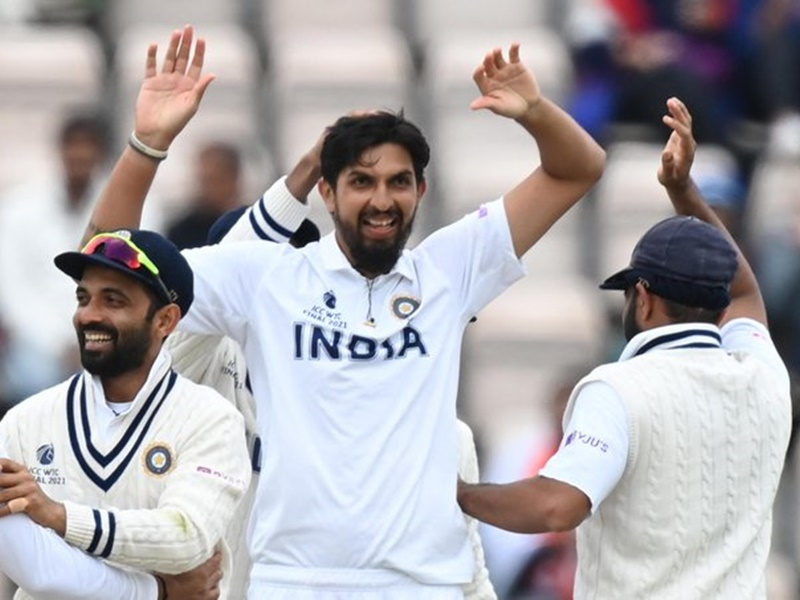 WTC final 2021: न्यूजीलैंड को पहली पारी में 32 रनों की बढ़त, टीम इंडिया की सधी शुरुआत