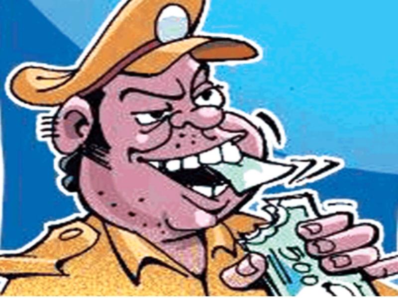 Morena Crime News: टीआइ सबलगढ़ के घर पर लोकायुक्त का छापा, 7 हजार रुपये रिश्वत लेते पकड़े