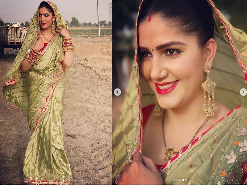 दुल्हन के लुक में Sapna Choudhary ने ढाया कहर, एक-एक फोटो में खूबसूरत दिख रहीं सपना