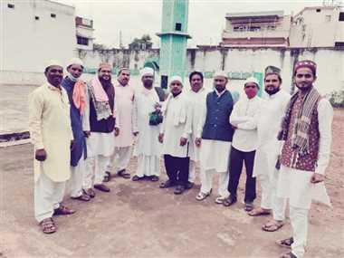 जिले में सादगी के साथ मनाया गया ईद-उल-अजहा