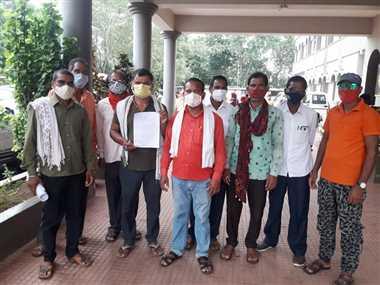 जुगदेही के ग्रामीणों ने भखारा पुलिस पर लगाया झूठ बोलने का आरोप