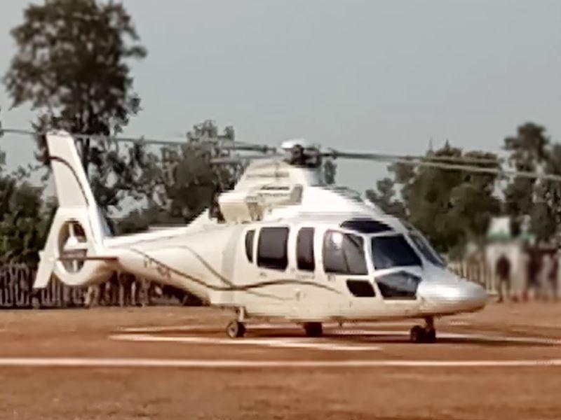 बड़ी लापरवाही : मुख्यमंत्री शिवराज सिंह चौहान के हेलीकॉप्टर के ऊपर आ गया था ड्रोन