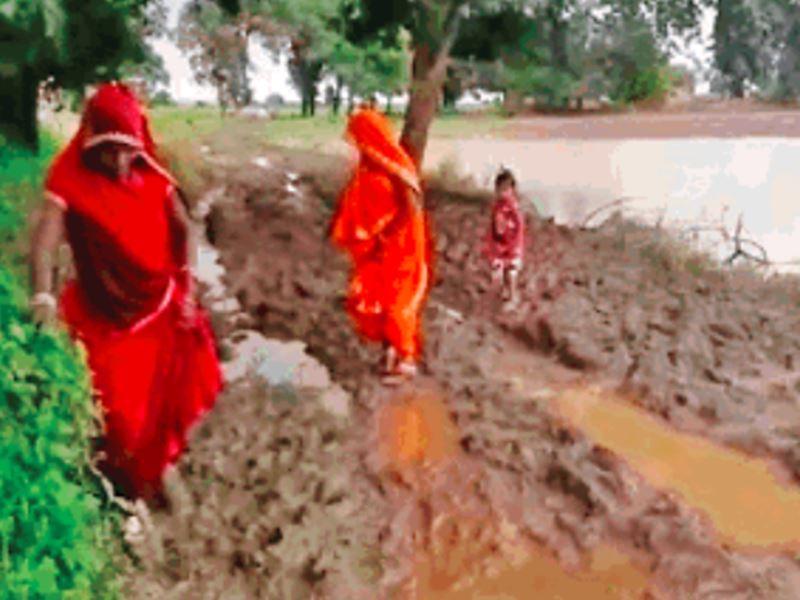 बरसात से पहले किराना, राशन एकत्रित कर गांव में ही रहते हैं 250 लोग