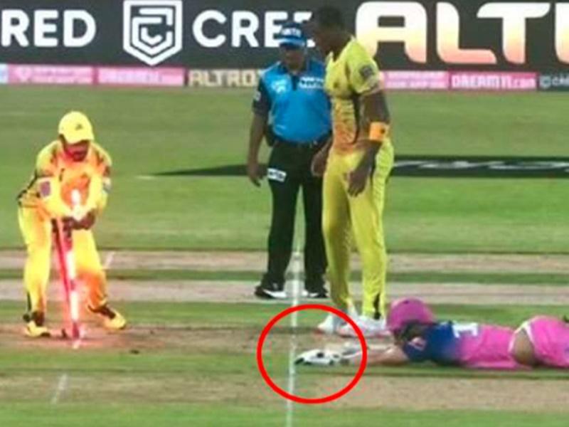 IPL 2020: बिना गेंद खेले आउट हुआ ये स्टार बल्लेबाज, राजस्थान की तरफ से खराब रहा डेब्यू