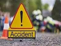 रतलाम जिले में लोडिंग वाहन पलटा, तीन बच्चों सहित 8 लोग घायल