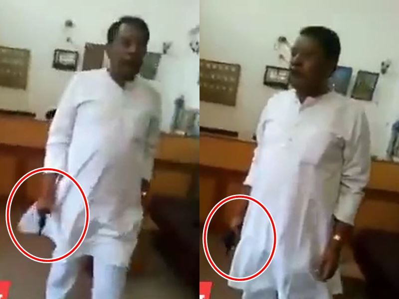 Anuppur By-Election 2020: अब बिसाहूलाल सिंह का रिवाल्वर लहराते पुरानी वीडियो वायरल