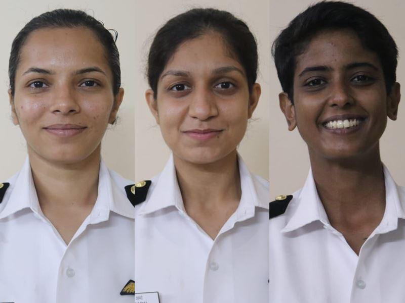 Female Indian Naval Pilot : नौसेना की तीन महिला पायलट अब समुद्री उड़ान के लिए हुई तैयार