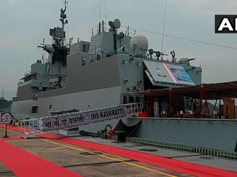 भारतीय नौसेना में शामिल हुआ INS Kavaratti, एंटी टैंक गाइडेड मिसाइल Nag का अंतिम परीक्षण सफल
