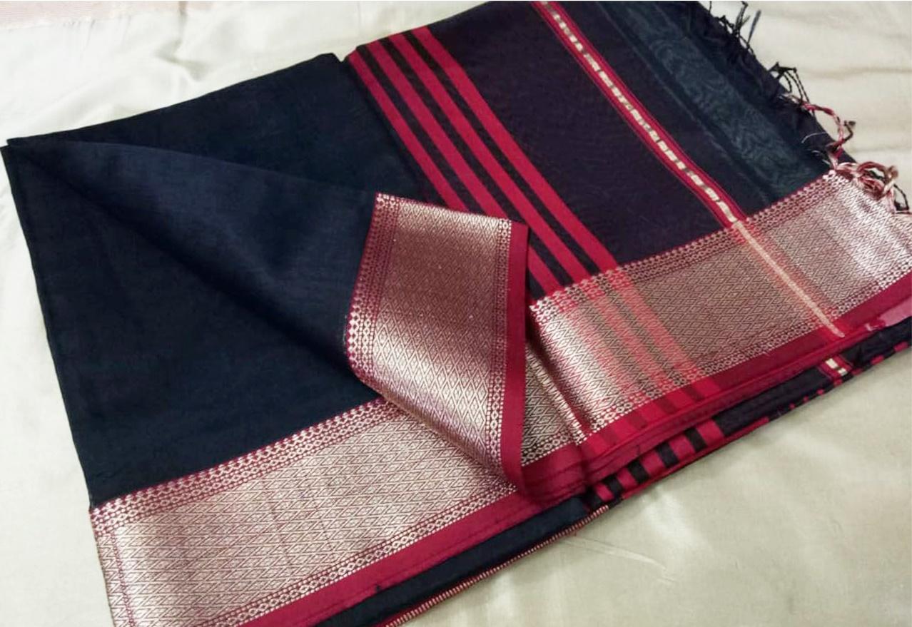 Maheshwari Silk Saree: अब देशी रेशम से तैयार होंगी महेश्वर साड़ियां