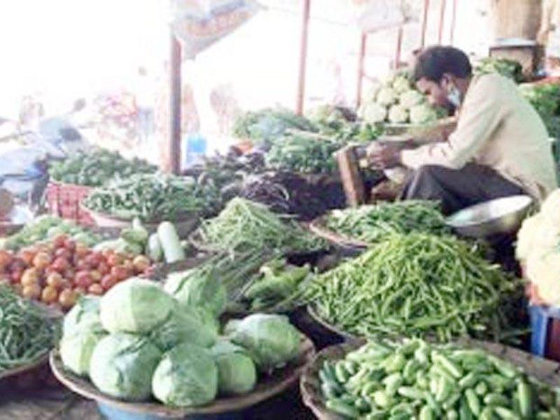 आवक बढ़ने सब्जियों के दाम घटे, मिली राहत