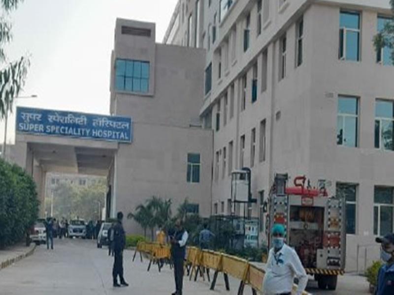 Super Specialty Hospital Gwalior: हाईफ्लो ऑक्सीजन मशीन में विस्फोट से कोरोना आइसीयू में भड़की थी आग