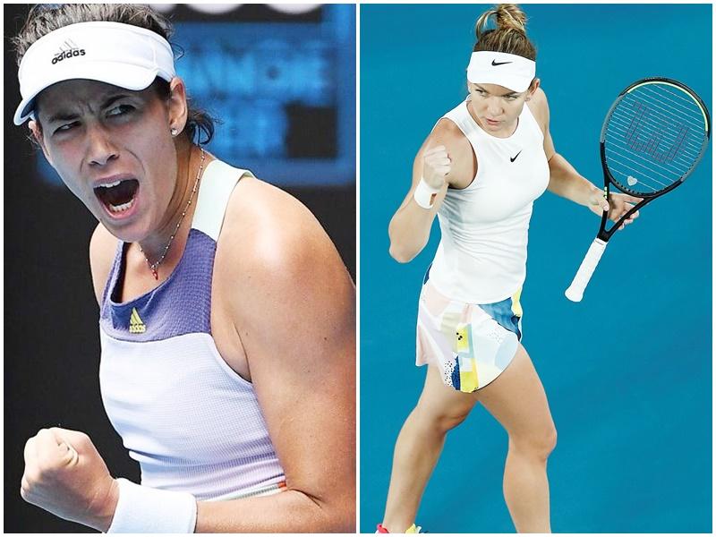 Australian open tennis: मुगुरुजा, हालेप और प्लिस्कोवा जीते, Sania Mirza चोट के कारण बाहर