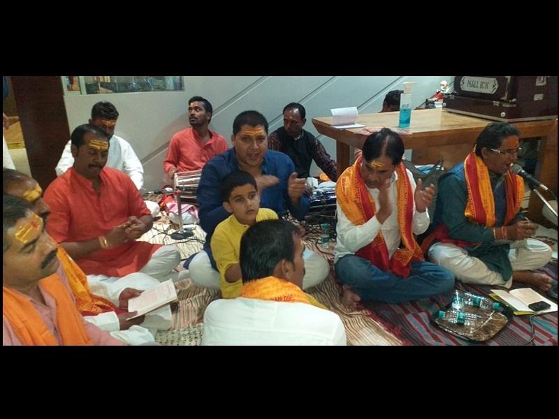 Attachment To Religion: सात वर्षीय आदित्य राजे सिंह ने किया सुंदर काण्ड का पाठ