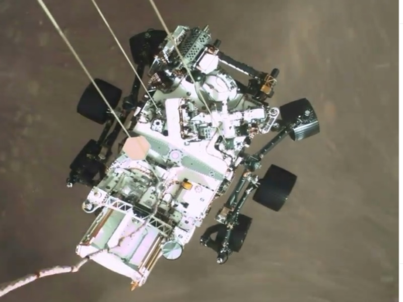 Mars Video: मंगल ग्रह पर ऐसे उतरा था रोवर पर्सिवेरेंस, नासा ने जारी किया पहला वीडियो