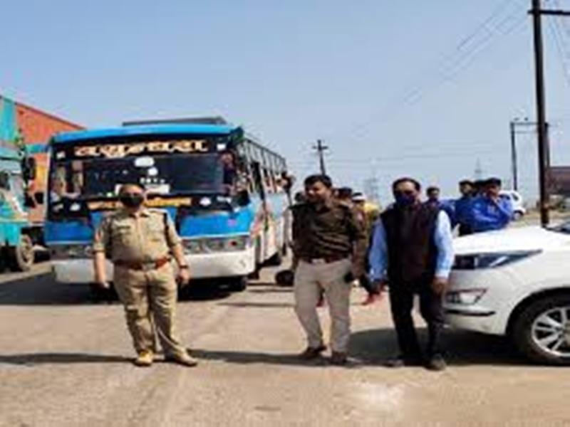 Gwalior RTO News: सात दिन में 350 बसों की चेकिंग, 34 जब्त