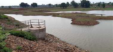 जल संसाधन विभाग नहीं कर रहा कुंडा जलाशय की देखरेख
