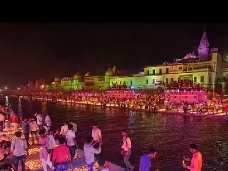 दिवाली पर अयोध्या में होगा ड्रोन शो, हवा में उड़ते 500 ड्रोन बताएंगे भगवान राम की कहानी