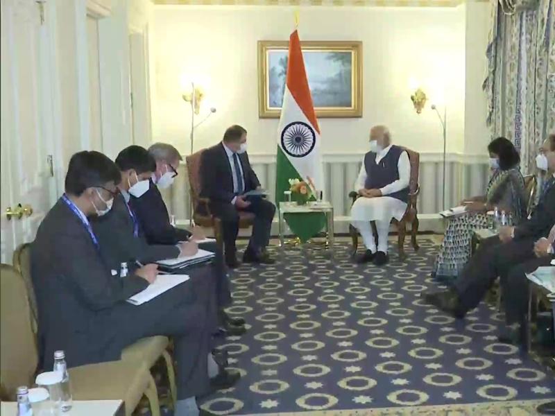 PM Modi US Visit : कई कंपनियों के CEO ने पीएम मोदी से की चर्चा, दिखाई भारत में निवेश में रुचि