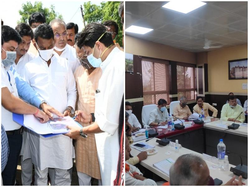 Scindia in Gwalior: सिंधिया ने नवीन एयरपाेर्ट के लिए प्रस्तावित जमीन का किया निरीक्षण, कहा-मैं शिलान्यास नहीं लाेकार्पण पर विश्वास रखता हूं
