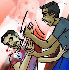 खंडवा : चाकू मारकर युवक की हत्या