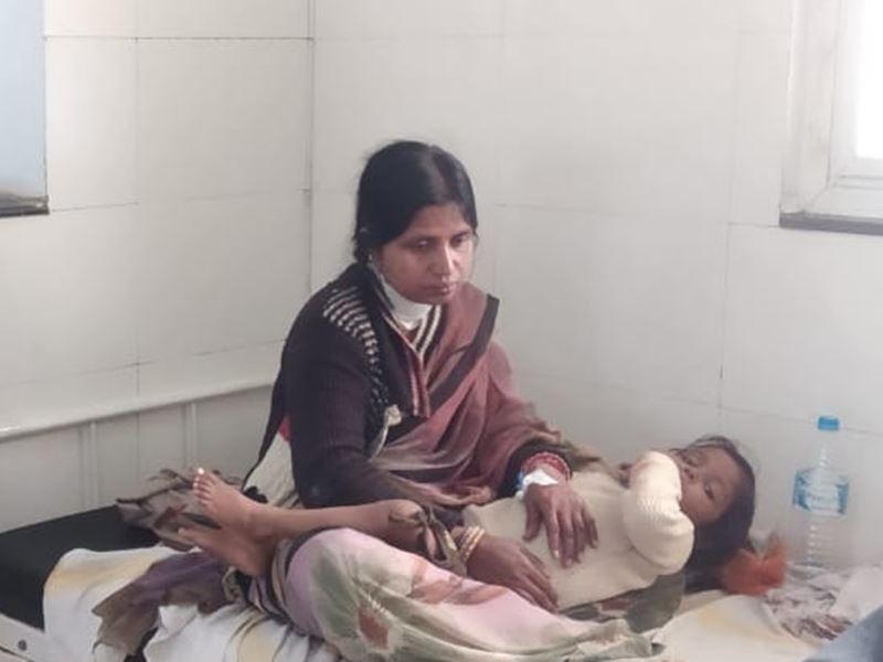 विदिशा में पत्नी ने कमाकर लाने को कहा, तो पति ने गले में मारा चाकू