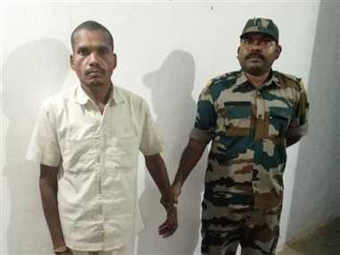 पत्नी की हत्या करने वाला आरोपित पति गिरफ्तार