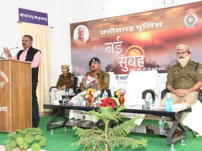 Police Initiative: व्यसन से नहीं जानी चाहिए एक भी जवान की जान: डीजीपी
