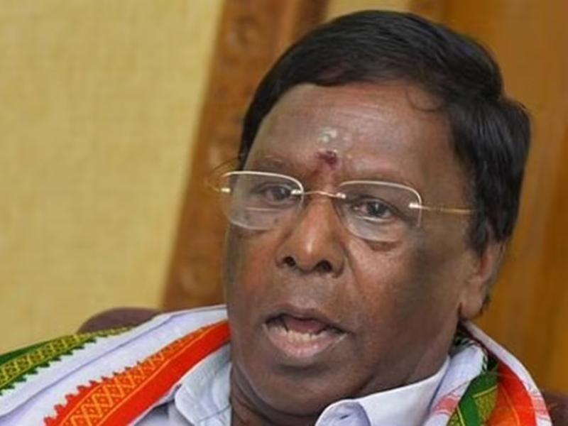 पुडुचेरी में राष्ट्रपति शासन की मंजूरी, केंद्रीय कैबिनेट का फैसला, नारायणसामी ने बीजेपी पर लगाया साजिश का आरोप