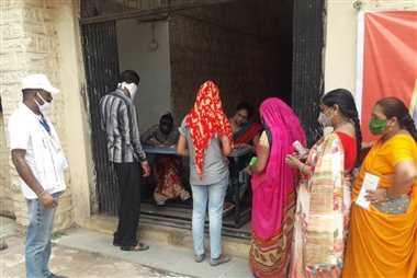 नीमच जिले में तीन दिन में 39 हजार 597 लोगों को लगा टीका