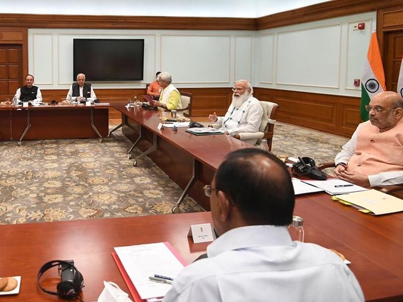PM-JK leaders Meeting: पीएम मोदी संग जम्मू-कश्मीर के नेताओं की बैठक संपन्न, विश्वास बहाली पर जोर