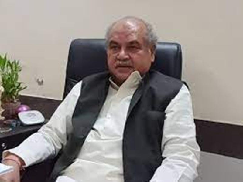 Union Minister Narendra Singh Tomar: किसान यूनियन का आंदोलन निरर्थक, वार्ता के लिए सामने आना चाहिए