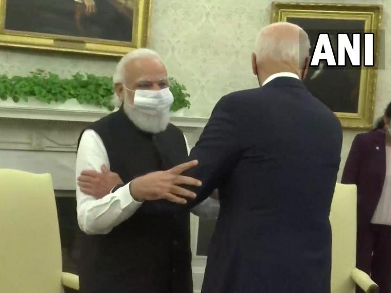 PM Modi US Visit : पीएम मोदी और राष्ट्रपति बाइडन की मुलाकात, द्विपक्षीय संबंधों को मजबूत बनाने पर सहमति