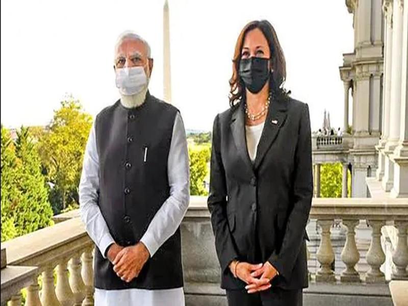 PM Modi US Visit: PM मोदी ने कमला हैरिस को काशी का अनोखा उपहार भेंट किया