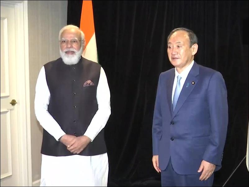 प्रधानमंत्री नरेंद्र मोदी ने जापानी प्रधान मंत्री योशीहिदे सुगा के साथ द्विपक्षीय बैठक की, जानिये वार्ता के बिंदु