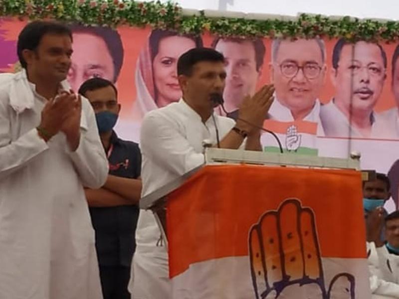 Khandwa: पूर्व मंत्री जीतू पटवारे के बिगड़े बोल, मुख्यमंत्री शिवराज को बताया पैरों की धूल