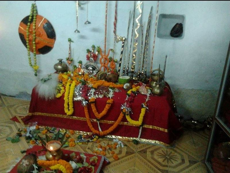 Dussehra 2020: दशहरे पर रायपुर में एक दिन खुलने वाले मठ में नागा साधुओं की समाधि