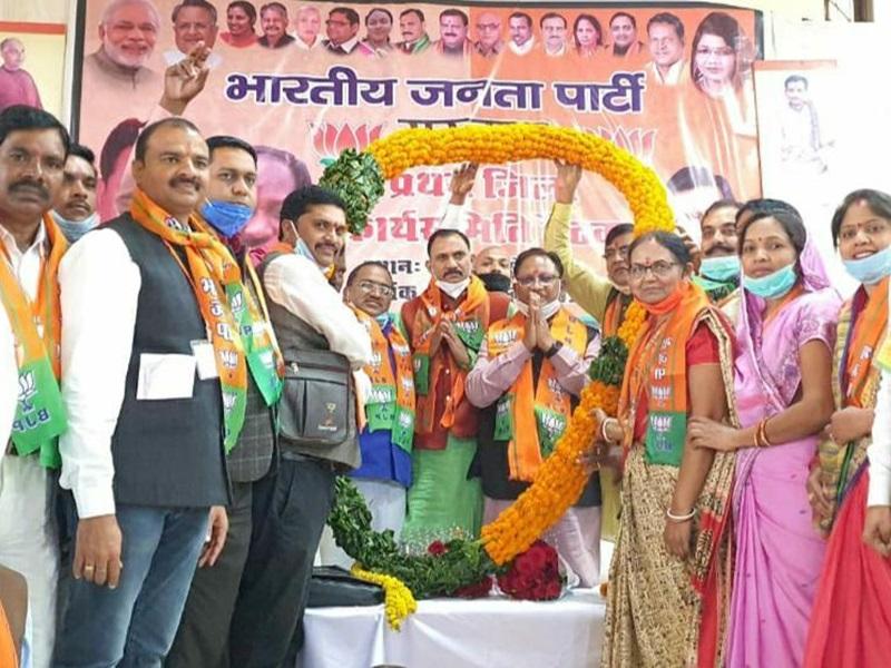 Bilaspur News: भाजपा प्रदेशाध्यक्ष ने कहा- केंद्र ने देश का नाम किया ऊंचा, प्रदेश सरकार है झूठी