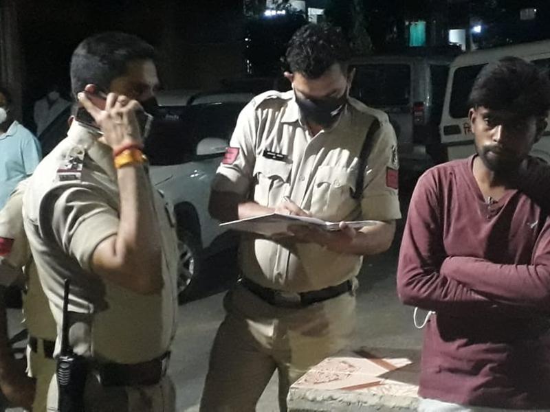 बिलासपुर में दुकान मालिक से विवाद, पांचवीं मंजिल से कूदी युवती