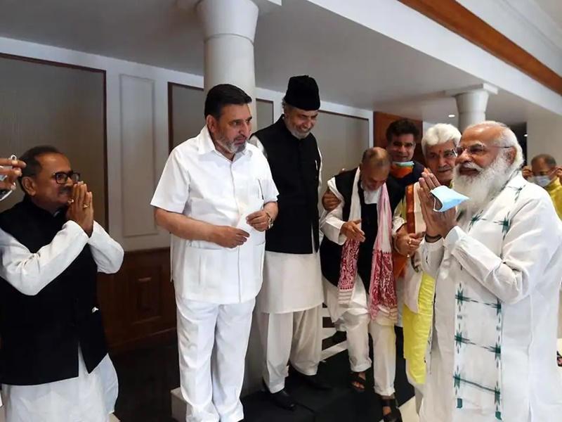 JK नेताओं के साथ PM Modi की सर्वदलीय बैठक की बड़ी बातें, जानिए कब होंगे विधानसभा चुनाव