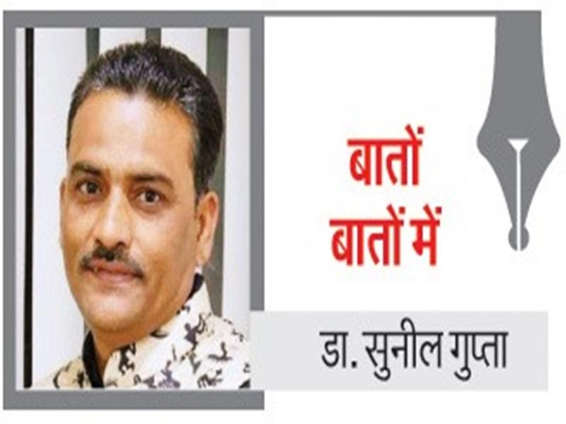 Bilaspur Dr. Sunil Gupta Column: अब तो इतराने लगी अरपा, दो दिन से जारी बारिश से नदी में पानी भरा