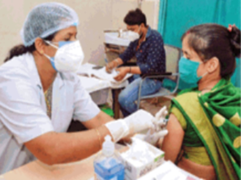 Gwalior Vaccination News: भाेपाल से मिले चार दिन में एक लाख डाेज, अब सोमवार को 33 हजार लोगों के टीकाकरण का लक्ष्य