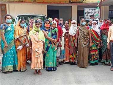 अतिक्रमण के खिलाफ नहीं हो रही कार्रवाई, मालगांव के ग्रामीणों में रोष