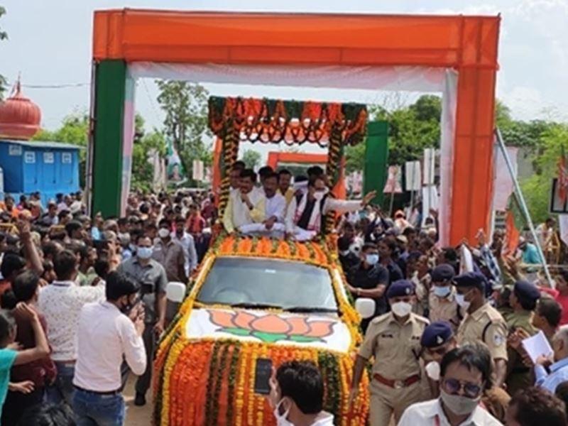 CM Shivraj Singh Chouhan: मुख्यमंत्री ने सतना के रैगांव और कोठी की झोलियों में भरी योजनाओं की सौगात