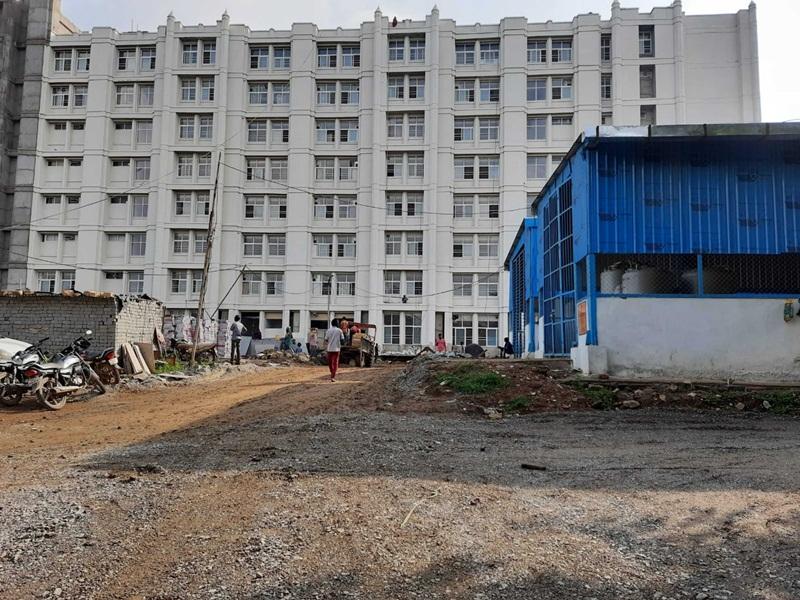 Gwalior Health News: 1000 बिस्तर अस्पताल-आधी तैयारी के साथ सी-ब्लॉक