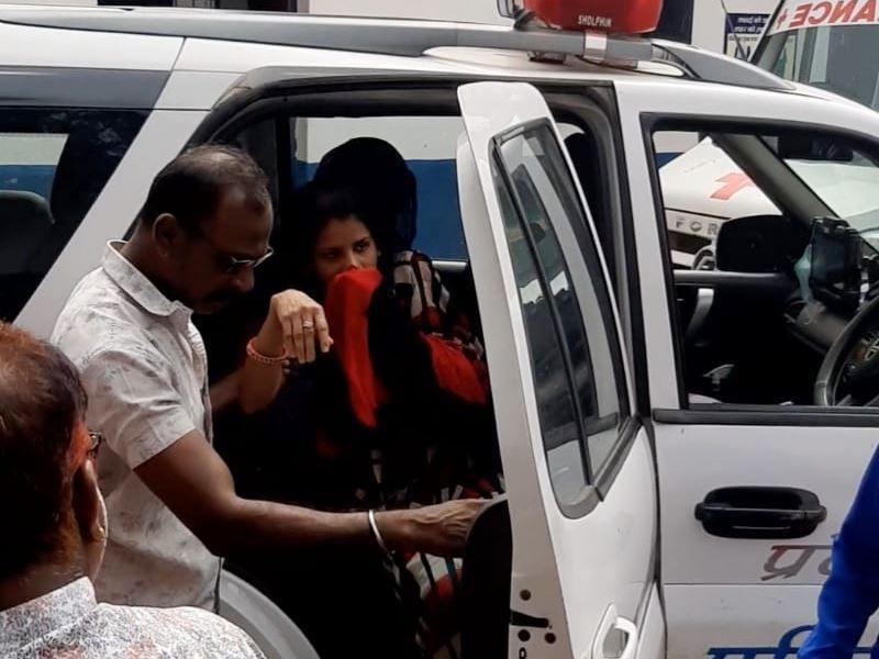 रतलाम के आलोट में घरेलू विवाद में पति ने पत्नी की नाक काटी