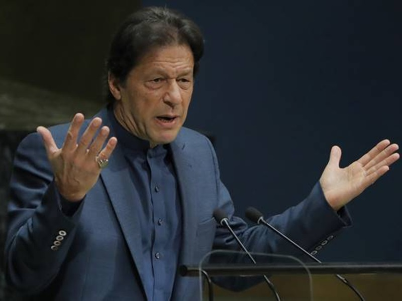 Imran Khan at UNGA: इमरान खान ने छेड़ा कश्मीर राग, भारत बोला- खाली करो PoK, देखिए वीडियो