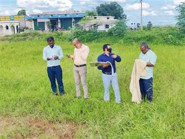 महासमुंद जिले में गिरदावरी का काम 73 फीसद पूरा