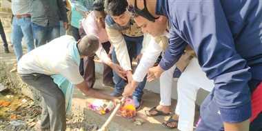 अब मठपुरैना के हल्का तालाब का होगा सुंदरीकरण
